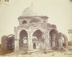 South end of Qutbul Alam's Tomb, Batwa, Ahmadabad